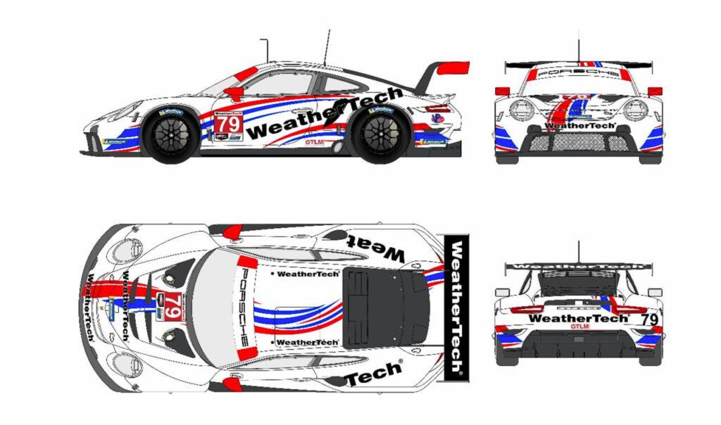 WeatherTech Racing Porsche 911 RSR IMSA 2021