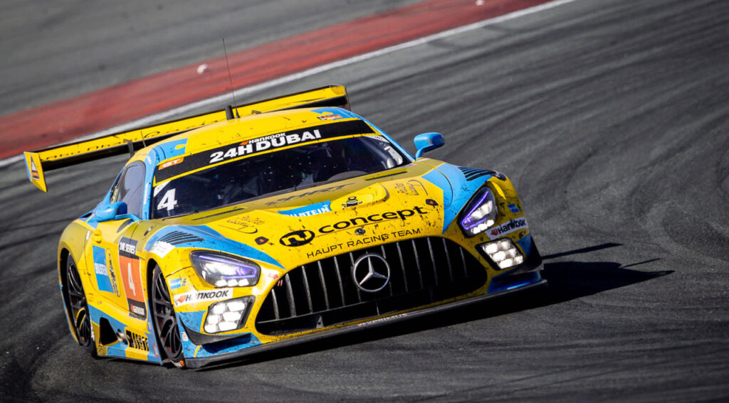HRT Haupt Racing Team Mercedes-AMG GT3 Dubai 24h 2021