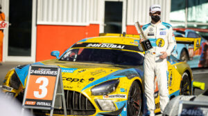 HRT Haupt Racing Team Mercedes-AMG GT3 Dubai 24h 2021 Maro Engel