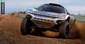 Extreme E Preseason Testing GMC HUMMER EV Extreme E 2021