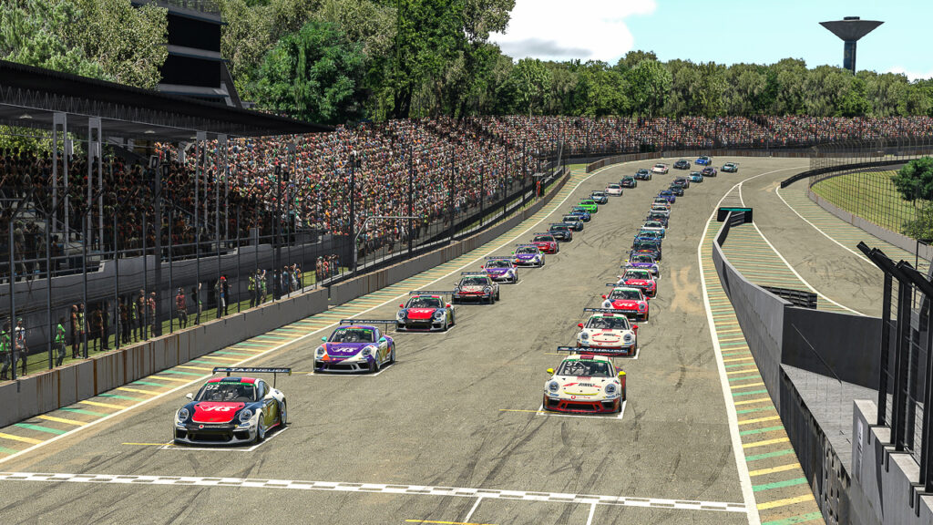 Porsche 911 GT3 Cup, Joshua Rogers (AUS), #92, Porsche TAG Heuer Esports Supercup, 2021