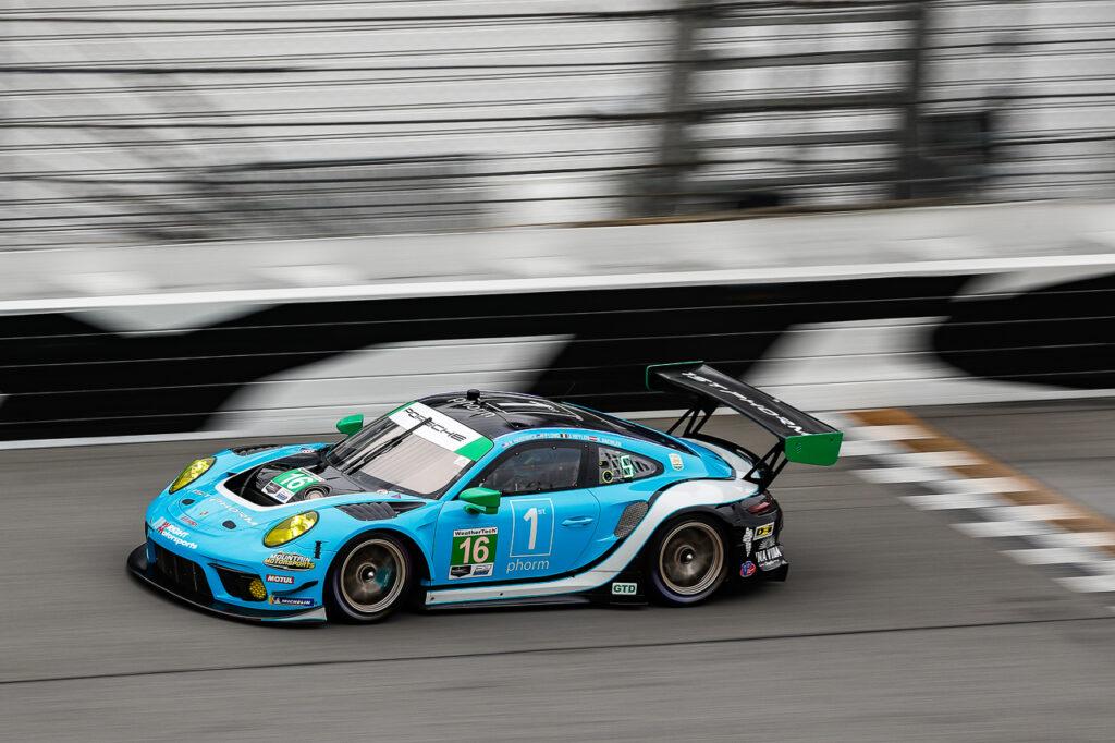 Rolex 24 at Daytona, ROAR Porsche 911 GT3 R, Wright Motorsports #16, Ryan Hardwick (USA), Patrick Long (USA), Jan Heylen (B), Klaus Bachler (A)