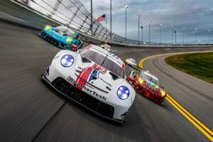 IMSA 2021 Daytona Porsche 911 RSR, WeatherTech Racing #79, Cooper MacNeil (USA), Gianmaria Bruni (I), Richard Lietz (A), Kevin Estre (F)