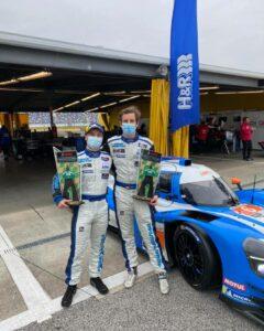 Mühlner Motorsport Daytona 2021 Laurents Hörr und Moritz Kranz