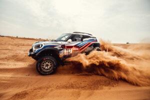 15th January 2021. Dakar Rally, MINI Motorsport, X-raid, Saudi Arabia, MINI John Cooper Works Rally, Vladimir Vasilyev