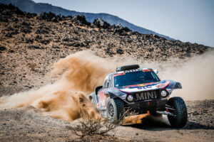 15th January 2021. Dakar Rally, MINI Motorsport, X-raid, Saudi Arabia, MINI John Cooper Works Buggy, Stéphane Peterhansel