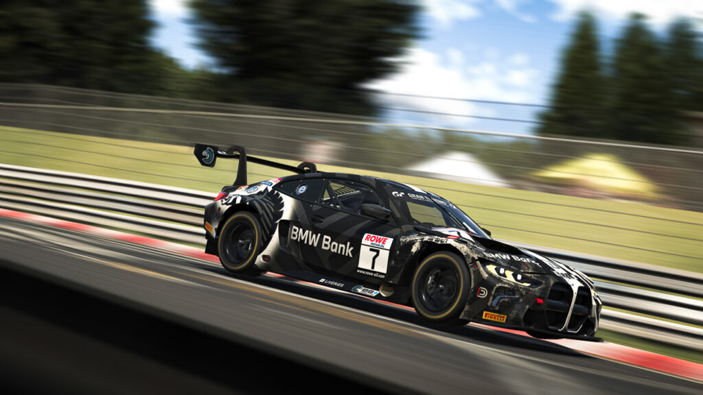 BMW Motorsport SIM Racing Teams, sim racing, esports, BMW Team BS+COMPETITION, BMW M4 GT3. DNLS
