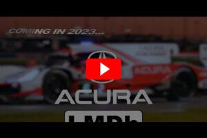Acura LMDh 2023 Video