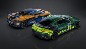 Dörr Motorsport Aston Martin Vantage GT4 McLaren 570S GT4 ADAC GT4 Germany 2021
