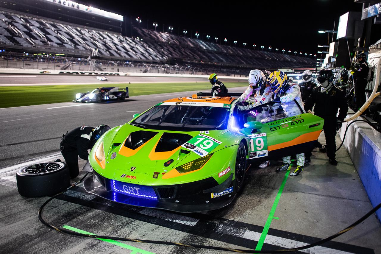 GRT Grasser Racing Team, Lamborghini Hurácan GT3 EVO #19 IMSA 2021 24h Daytona
