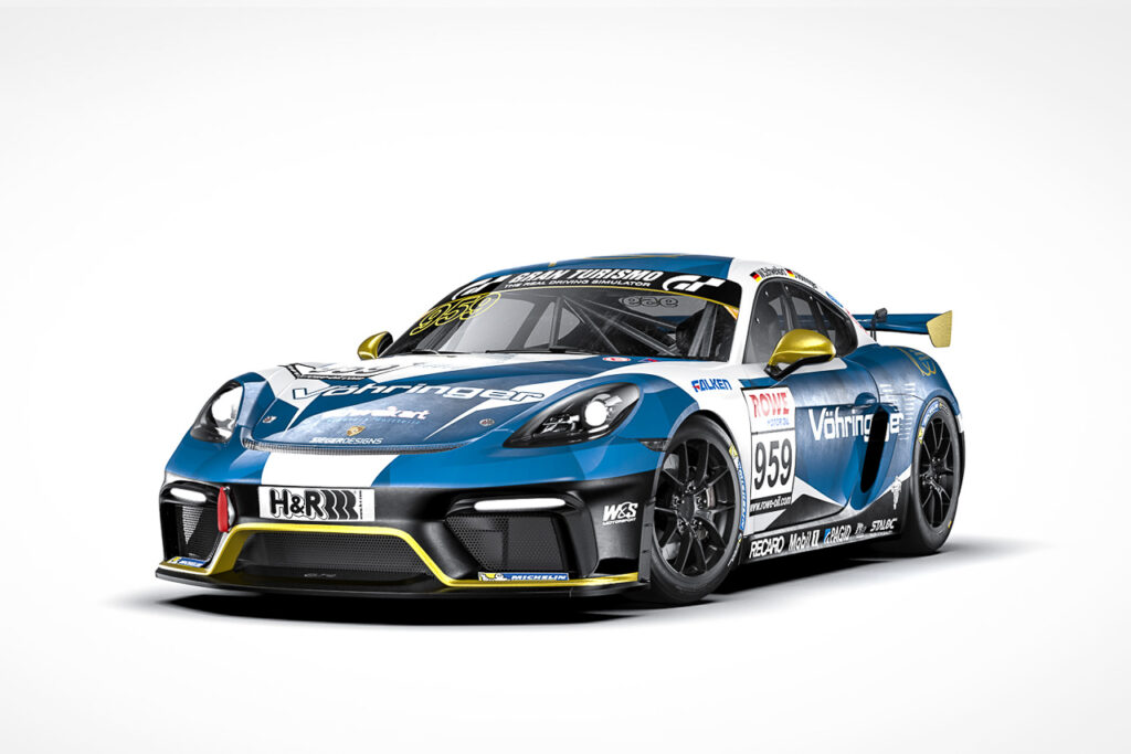 W&S Motorsport Porsche Cayman 718 GT4 Vöhringer NLS 2021