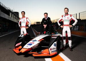 Formula E, Valencia Test 2020 Lucas di Grassi, Allan McNish, René Rast