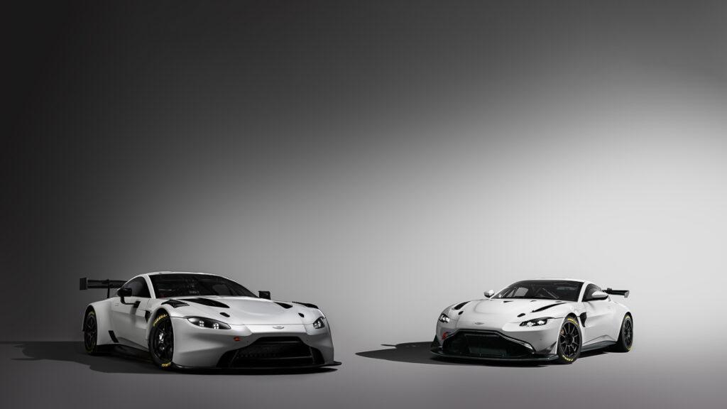 Aston Martin Vantage GT3 und GT4