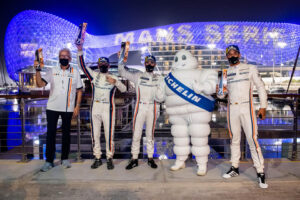 GPX Racing ALMS Abu Dhabi 2021 Podium
