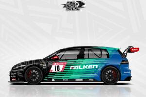 Max Kruse Racing Falken VW Golf GTI TCR NLS 2021 #10