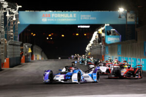 Diriyah (KSA), 25th February - 27th February 2021. ABB FIA Formula E World Championship, Season 7, Diriyah E-Prix, Maximilian Günther (GER) #28 BMW iFE.21, BMW i Andretti Motorsport.