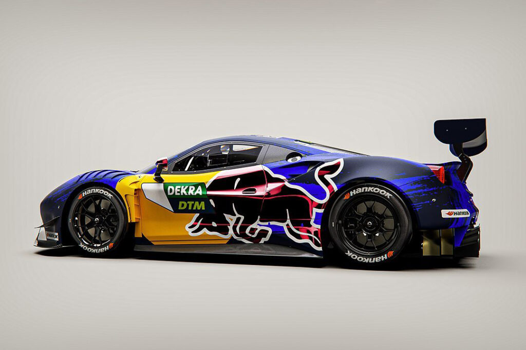 Red Bull DTM 2021 Ferrari 488 GT3 EVO