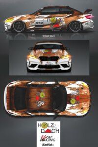 LifeCarRacing BMW M2 CS Holzi NLS 2021