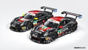 Precote Herberth Motorsport ADAC GT Masters 2021 Porsche 911 GT3 R
