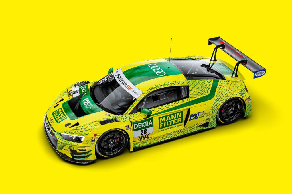 Mann-Filter Audi R8 LMS GT3 Montaplast by Land-Motorsport ADAC GT Masters 2021