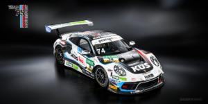 #74 KÜS Team Bernhard Porsche 911 GT3 R ADAC GT Masters 2021