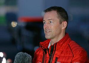 Audi Sport customer racing Vallelunga 2021 test Stefan Gugger