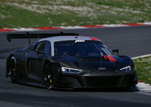 Audi Sport customer racing Vallelunga 2021 test Audi R8 LMS (ABT Sportsline)