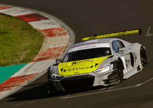 Audi Sport customer racing Vallelunga 2021 test Audi R8 LMS (Audi Sport Italia)