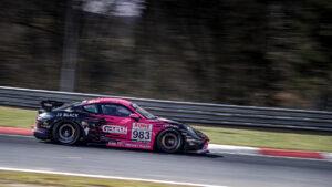 G-Tech Competition Porsche Cayman GT4 NLS1 2021