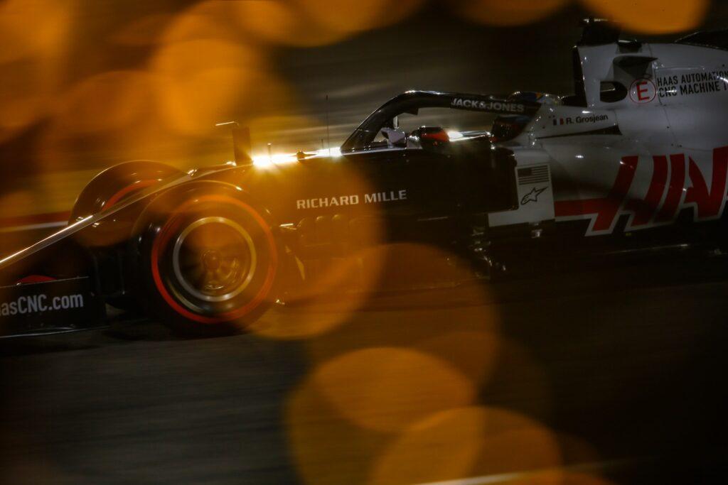 Haas F1 Team Romain Grosjean Bahrain 2020