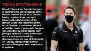 Haas F1 Team Statement