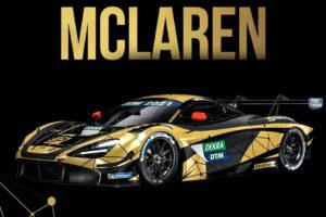 JP Motorsport McLaren 720S GT3 DTM 2021