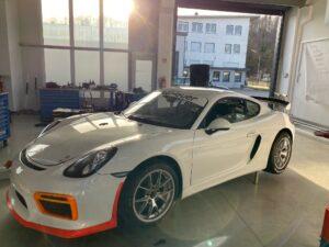 Mathilda racing Porsche Cayman 718 GT4 NLS 2021