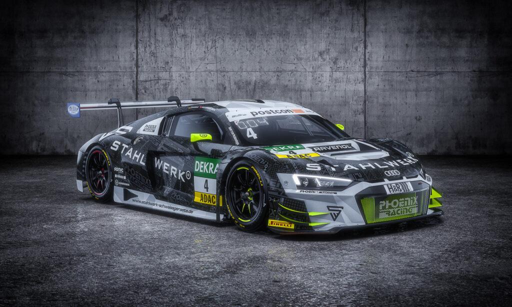 phoenix Racing Audi R8 LMS GT3 ADAC GT Masters 2021