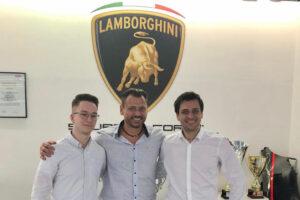 Mike David Ortmann, Gottfried Grasser und Clemens Schmid GRT Grasser Racing Team ADAC GT Masters 2021