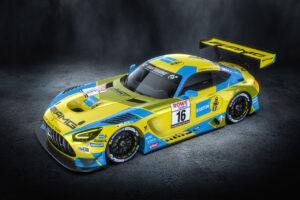 HRT Haupt Racing Team Mercedes-AMG GT3 Bilstein NLS 2021
