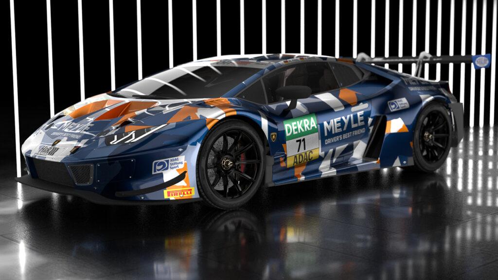 T3 Motorsport Lamborghini Huracan GT3 ADAC GT Masters 2021