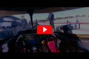 Romain Grosjean Drivers Eye Laguna Seca