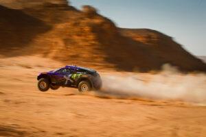 ALULA, SAUDI ARABIA - APRIL 03: Cristina Gutierrez (ESP)/Sebastien Loeb (FRA), X44 during the Desert X-Prix at AlUla on April 03, 2021 in AlUla, Saudi Arabia. (Photo by Colin McMaster / LAT Images)