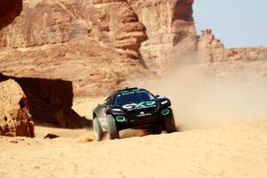 ALULA, SAUDI ARABIA - APRIL 03: Molly Taylor (AUS)/Johan Kristoffersson (SWE), Rosberg X Racing during the Desert X-Prix at AlUla on April 03, 2021 in AlUla, Saudi Arabia. (Photo by Steven Tee / LAT Images)
