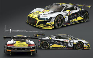 Team WRT GTWC Europe 2021 Audi R8 LMS GT3