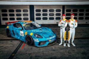 Allied Racing Porsche Cayman 718 GT4 GTC Race 2021