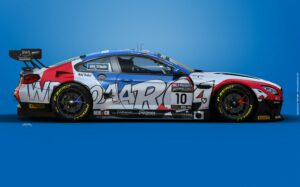 Boutsen Ginion Racing BMW M6 GT3 GTWC Europe 2021 Art Car