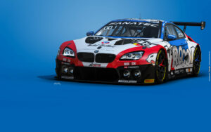 Boutsen Ginion Racing BMW M6 GT3 GTWC Europe 2021 Art Car1