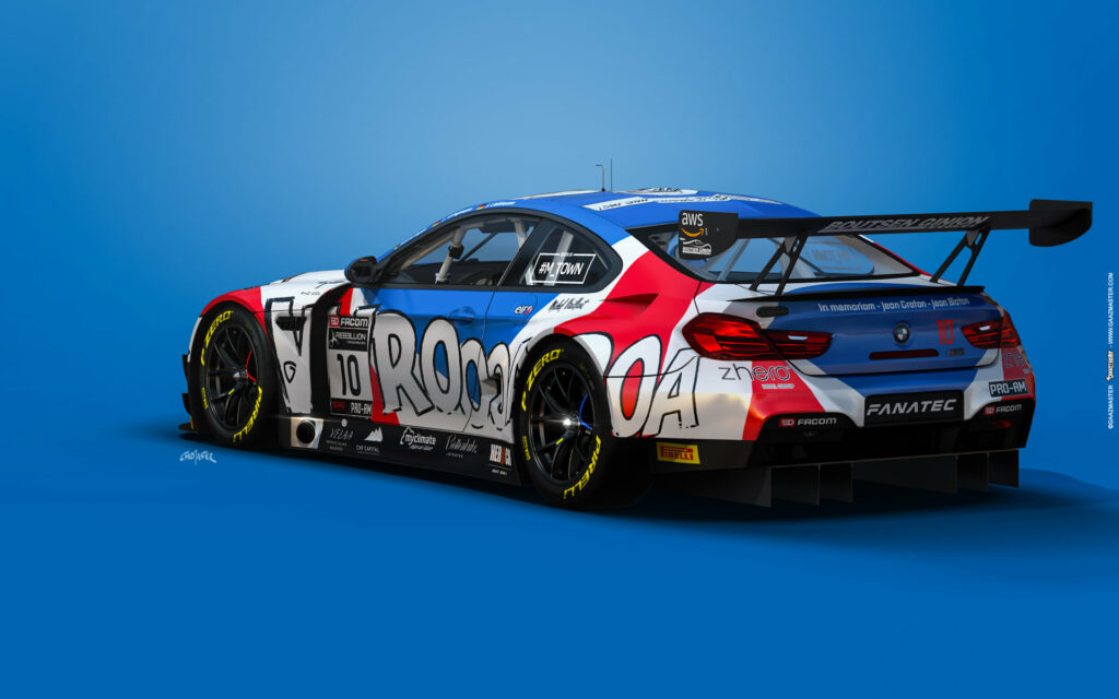 Boutsen Ginion Racing BMW M6 GT3 GTWC Europe 2021 Art Car2