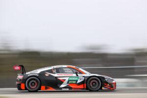 DTM, 1. Test Hockenheimring 2021 - Team Rosberg Audi R8 LMS GT3
