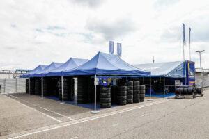 Hockenheim, Germany: DTM Test Hockenheimring, Michelin Paddock