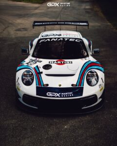 GPX Racing Porsche 911 GT3 R GTWC Europe 2021