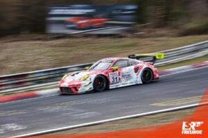 Frikadelli Racing Porsche 911 GT3 R NLS1 2021