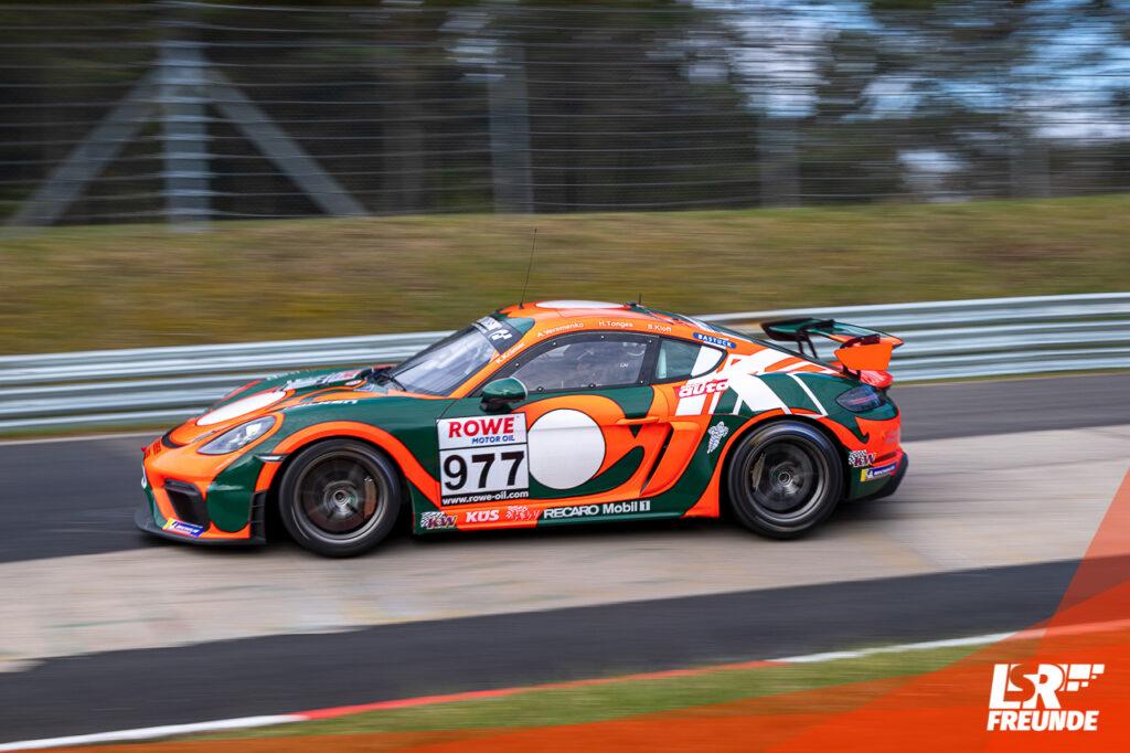 KKrämer Racing Porsche Cayman NLS 2 2021